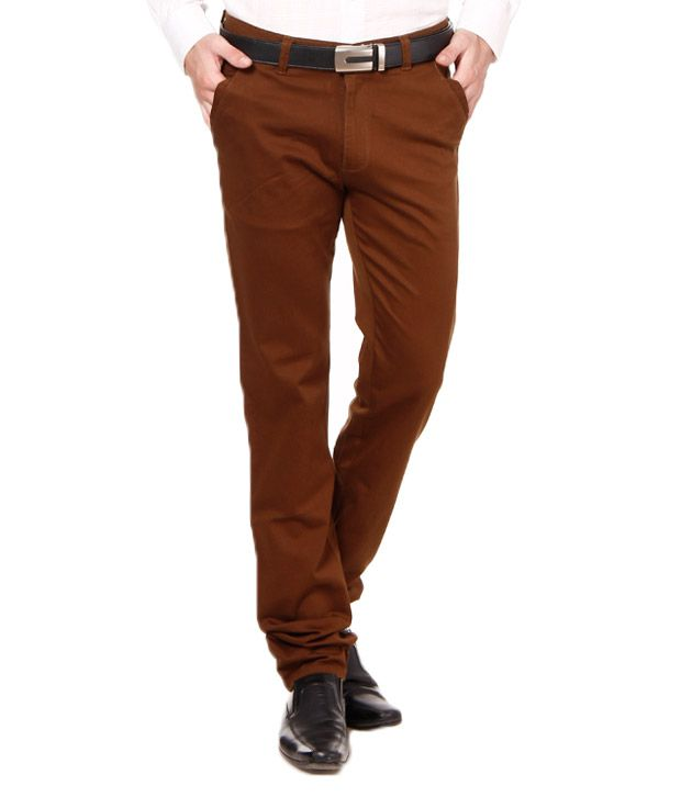 British Terminal Royal Khaki Stretchable Chinos