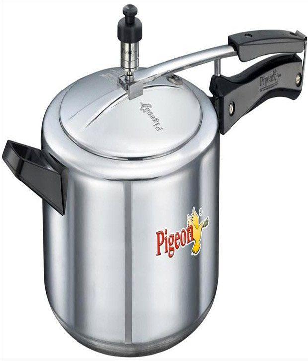 Pigeon Aluminium 5 L Pressure Cooker (Inner Lid)