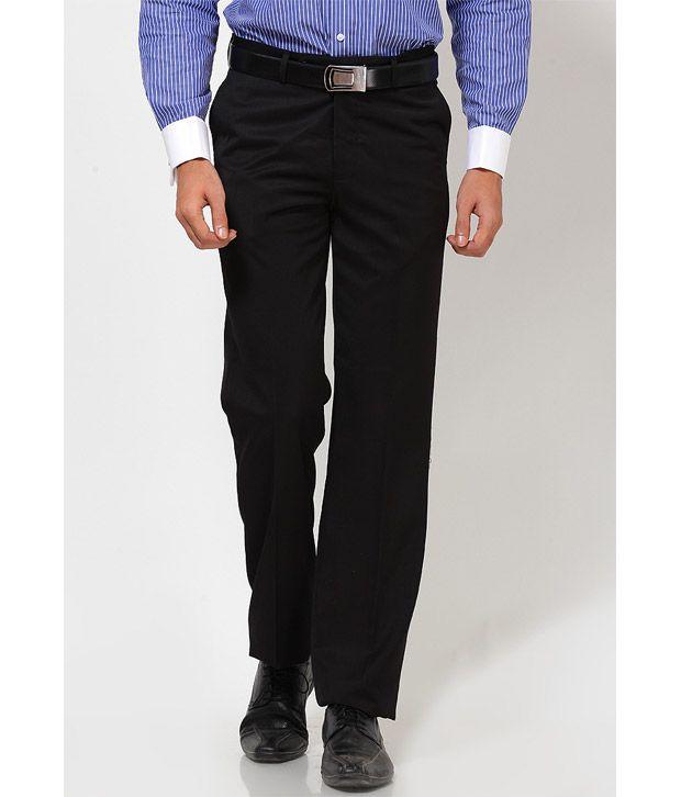 Turtle Elegant Black Trouser