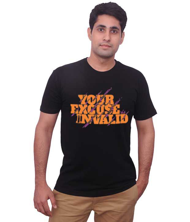 Inkovy Black Your Excuse T-Shirt