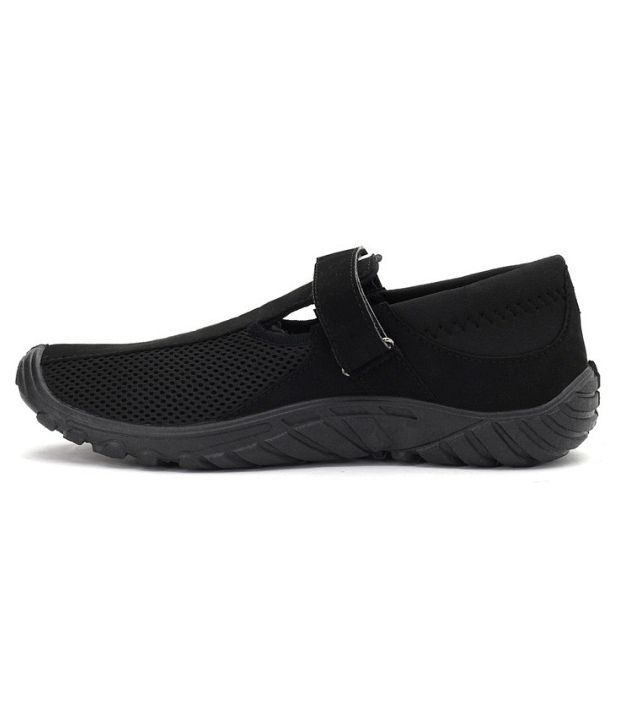 Liberty Gliders Black Casual Shoes