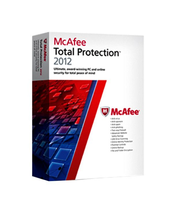 McAfee Total Protection 2012 (1 User)
