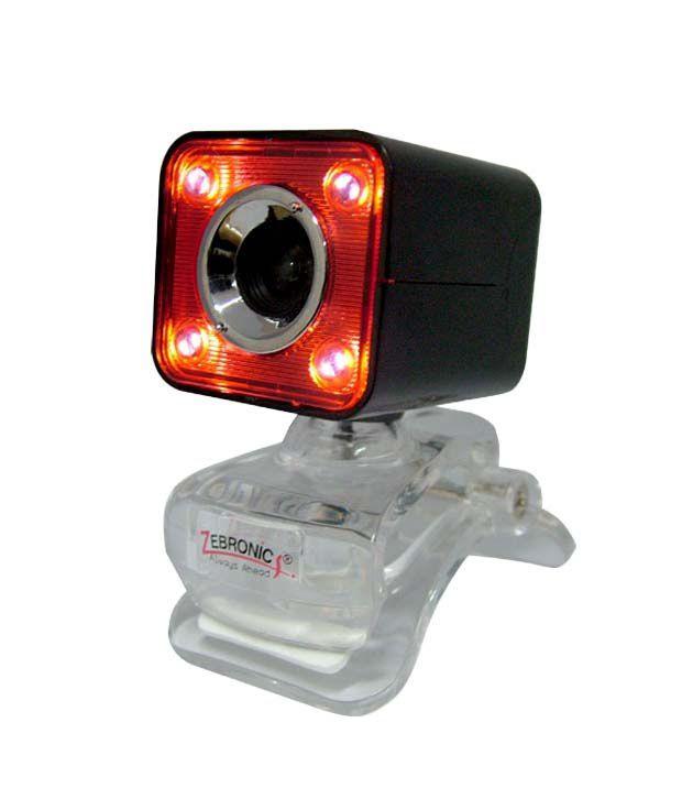 Zebronics Crystal Webcam