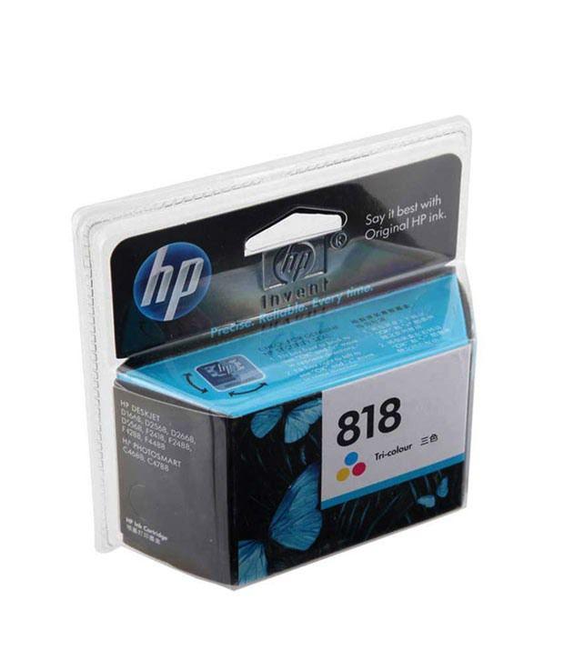 HP 818 Inkjet Cartridge (Tricolor)