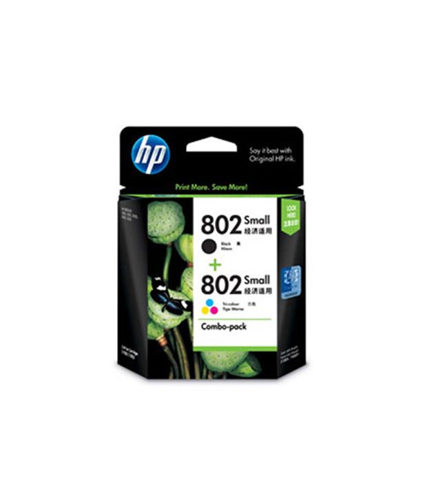 Hewlett Packard 802 Ink Cartridge 802 (Black)