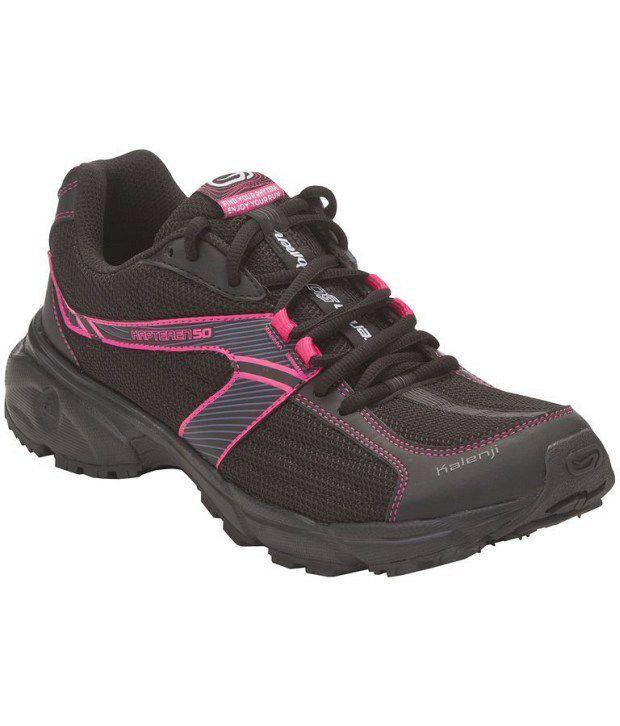 Kalenji Kapteren 50 Black Running Shoes 8238084 Price in