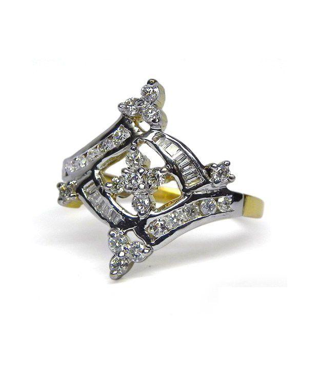 Djewels 0.65ct. Diamond 18kt Gold Ring