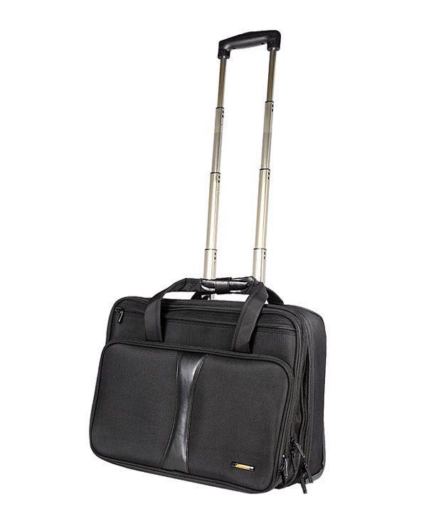 Travel Blue 17 inch Overnight Wheeled Laptop Case