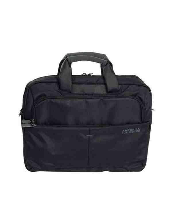American Tourister Speedair Laptop Portfolio-BlacK