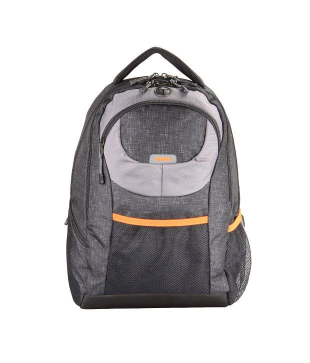 American Tourister Buzz Backpack - Black/Grey