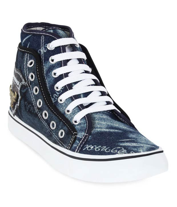 Get Glamr Blue Daily Shoes