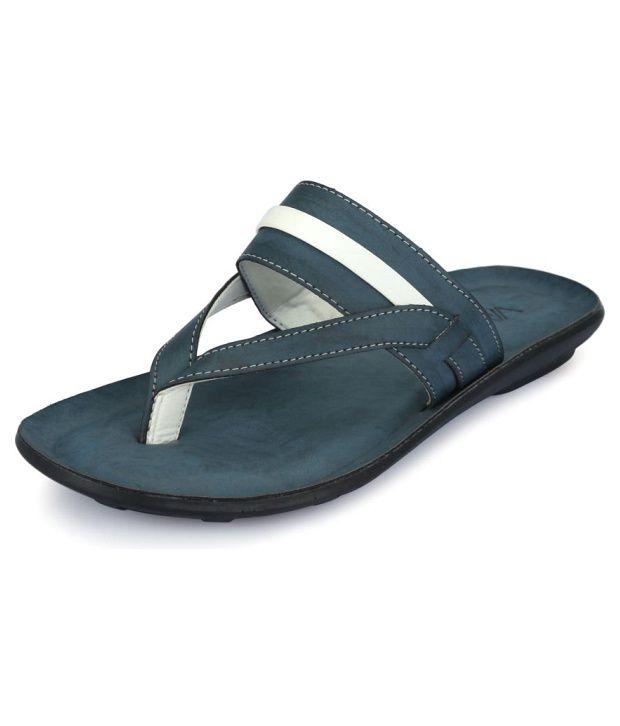 Vago Breezy Blue Slippers Price in