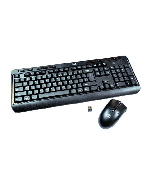 ambrane kb w1 wireless keyboard mouse combo buy ambrane kb w1 wireless keyboard mouse combo. Black Bedroom Furniture Sets. Home Design Ideas