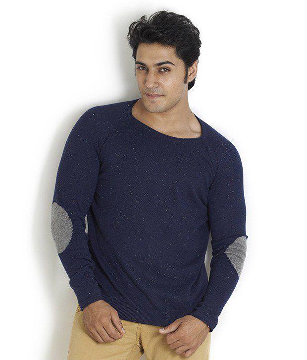 Globus Exclusive Navy Full Sleeve T Shirt