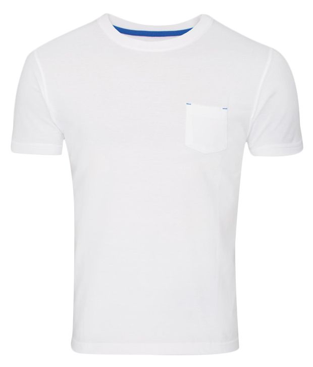 Zovi White Basics Cotton T-Shirt