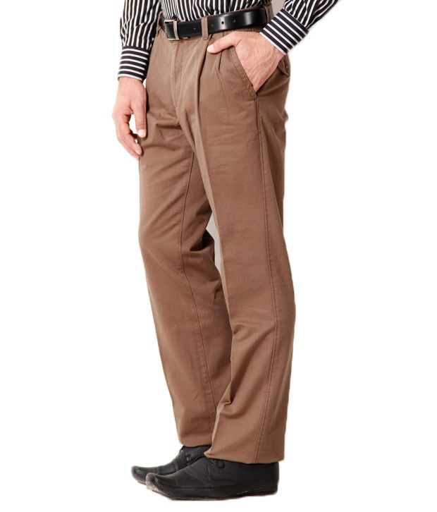 Ruggers Smart Olive Trousers