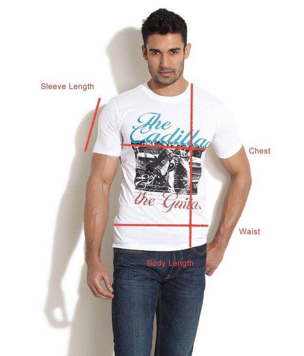 Taanz White T-Shirt