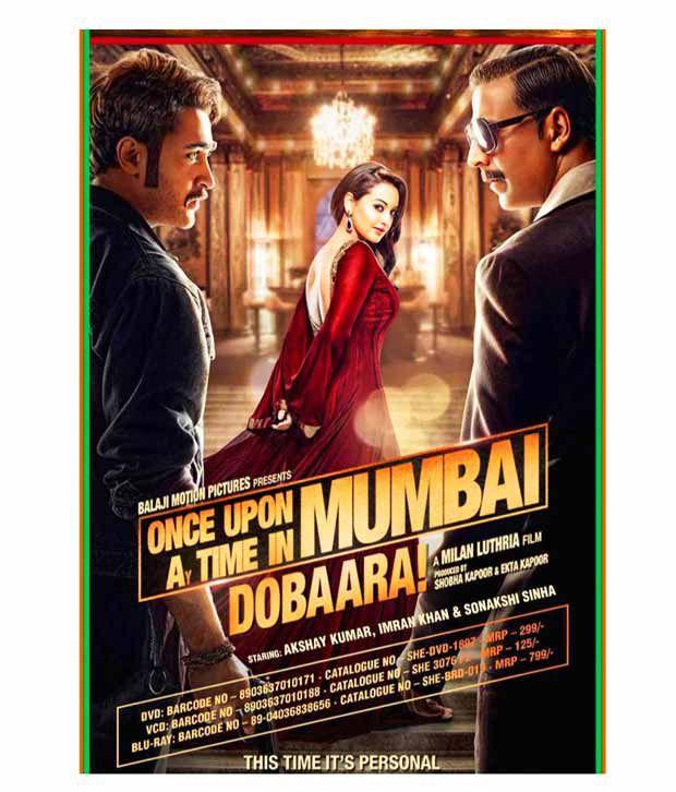 Once Upon A Time In Mumbai Dobara (Hindi) [VCD]