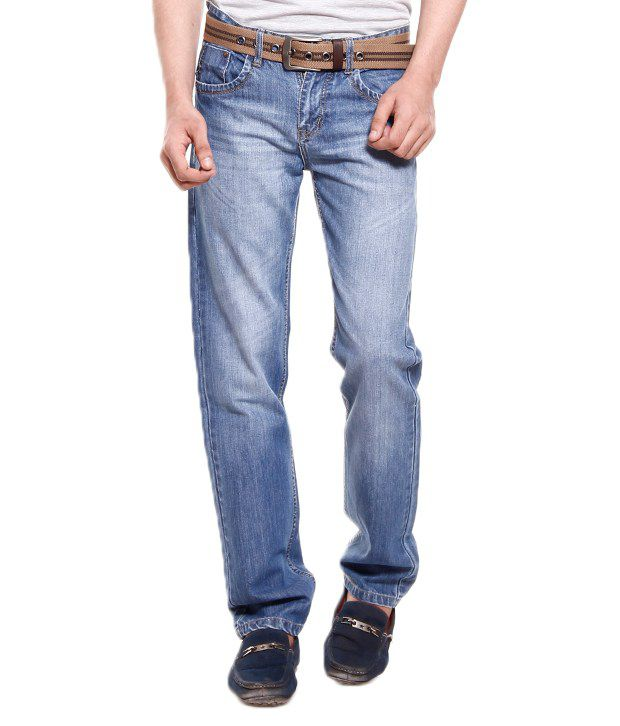 Fever Light Blue  Classy Cotton Jeans