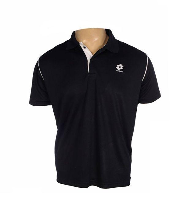Lotto Navy Blue Polo T Shirt