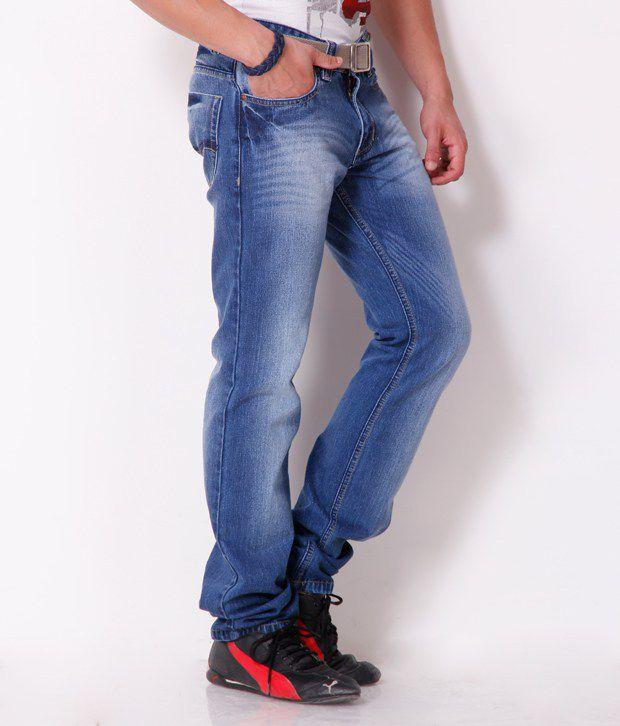 Gansta Smart Dark Blue Jeans