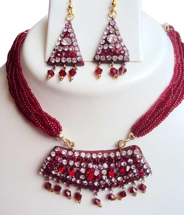 Aradhyaa Jewel Arts Trendy  Multistring Necklace Set