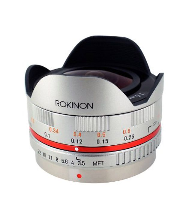 Rokinon FE75MFT-S 7.5 mm F3.5  UMC Fisheye Lens for Micro Four  Thirds (Olympus PEN and ..