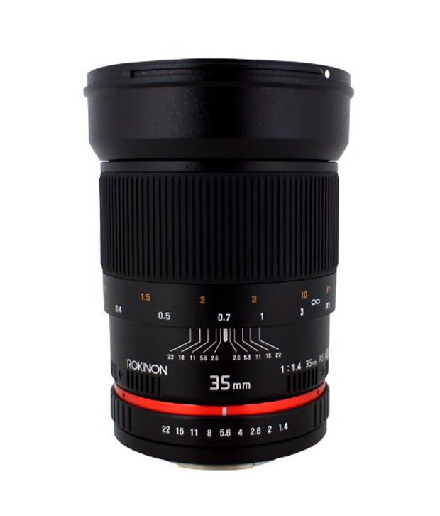 Rokinon 35 mm f/1.4 Lens for  Canon Cameras