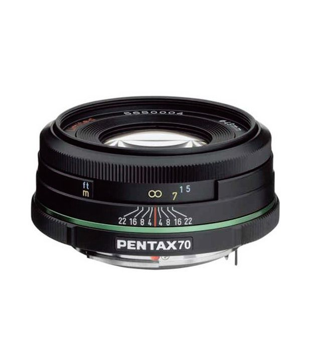 Pentax 70 mm f/2.4 DA Limited  Lens for Pentax and Samsung  Digital SLR Cameras