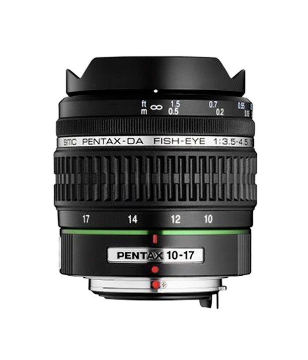 PENTAX DA 10-17 mm f/3.5-4.5 ED  (IF) Fish-Eye Lens for Pentax  Digital SLR