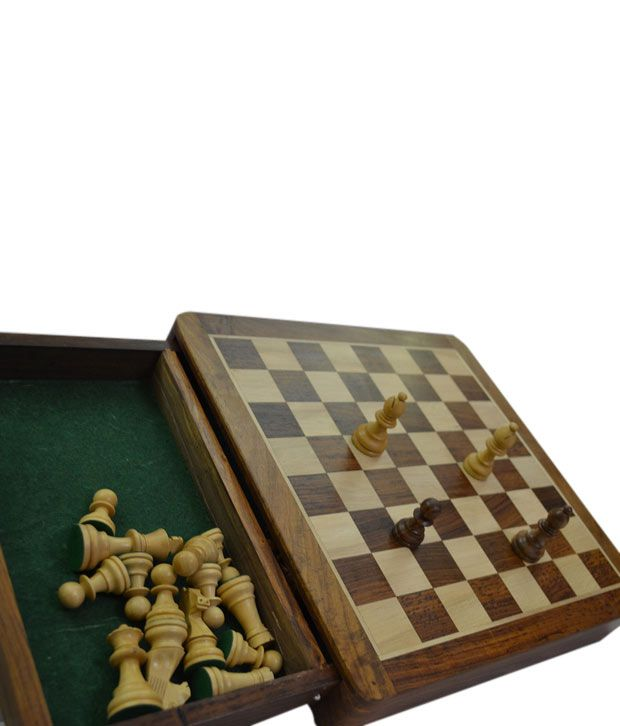 Chess n Craft Flat Magnetic Chess 12 Inch