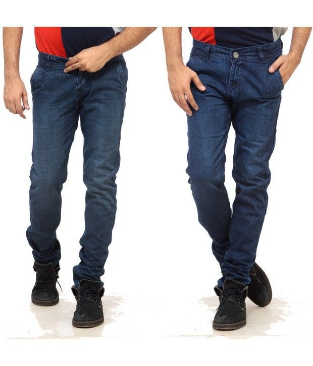 NX Exclusive Blue Basic  Pack of 2 Jeans
