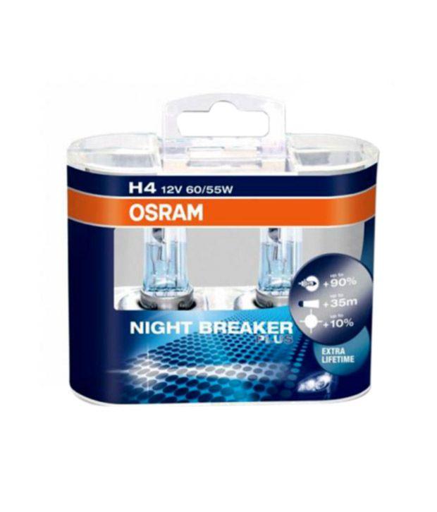 osram night breaker plus headlight bulbs bulb h4 buy osram night breaker plus headlight. Black Bedroom Furniture Sets. Home Design Ideas