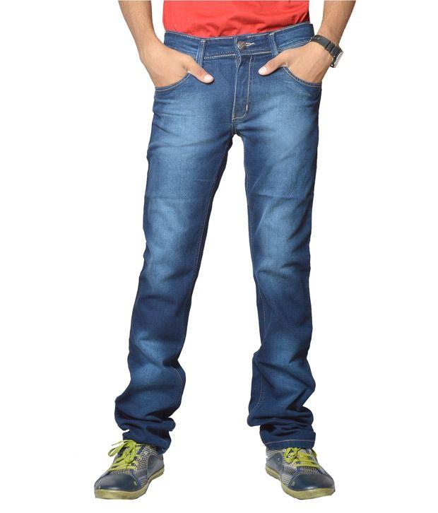 Fungus Stylish Blue Jeans