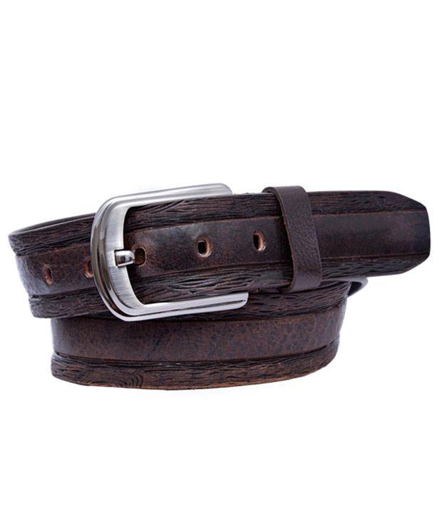 Calvadoss Contemporary Brown Belt