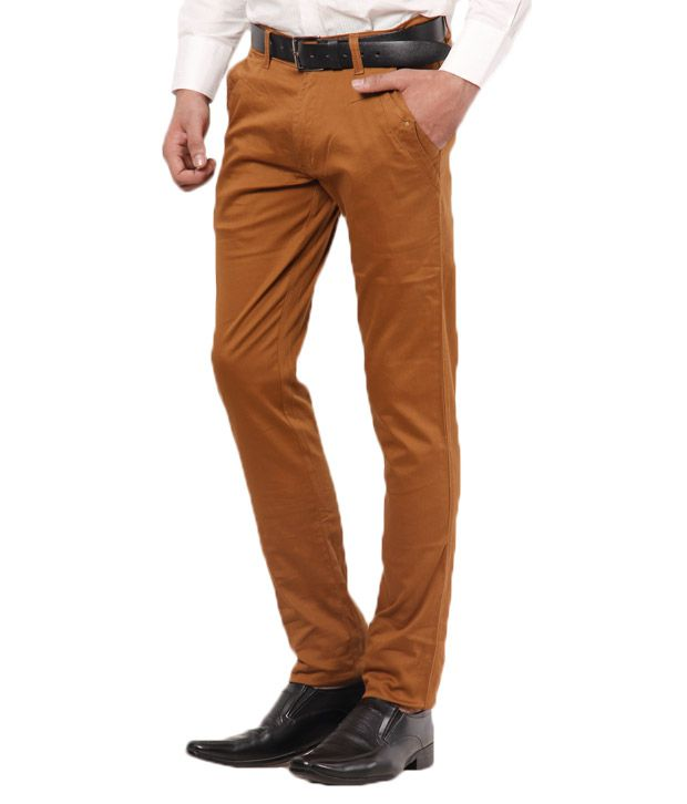 British Terminal Stylish Khaki Chinos