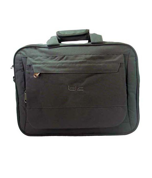 TLC Calculus 15.6 inch Laptop Bag (Grey)