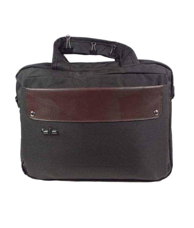TLC Equinox Small 12.1 inch Laptop Bag (Brown)