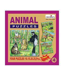 Creatives Animal Puzzle No. 4- 10 to 25 Pieces