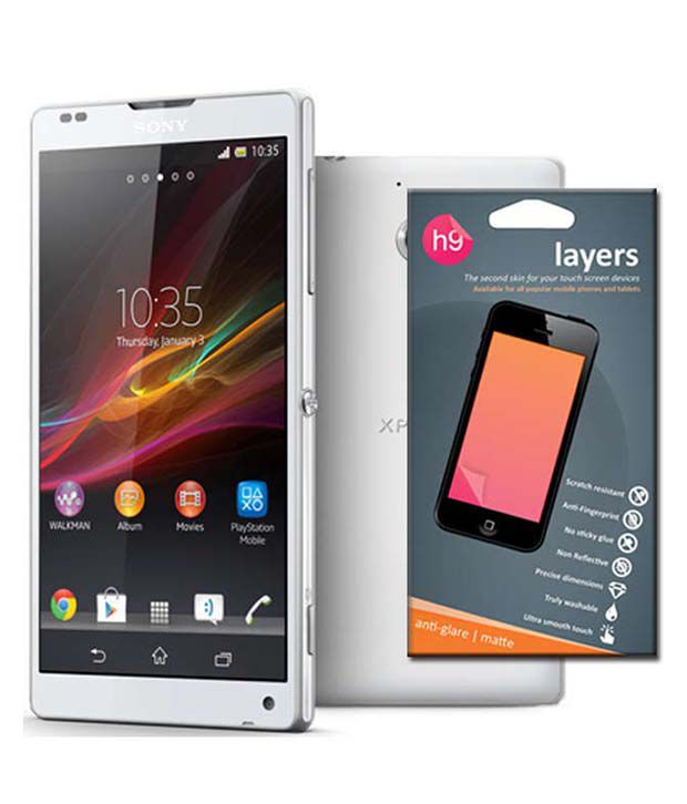 Xperia Zl Black Screen Sony Xperia ZL matte s...