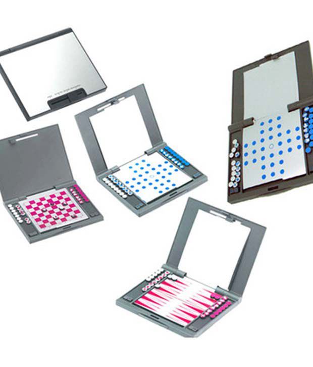 Stylish You 4 in 1 magnetic Multi game set