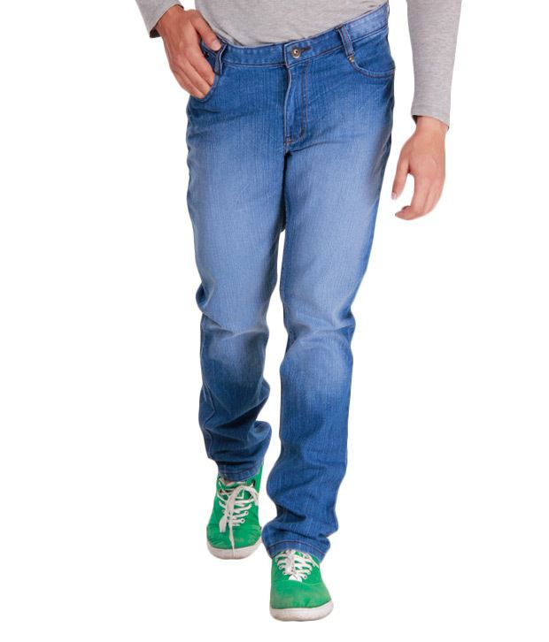 Alano Stylish Blue Jeans
