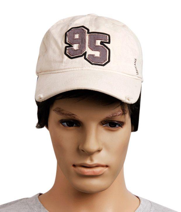 Reebok Cream Baseball Cap