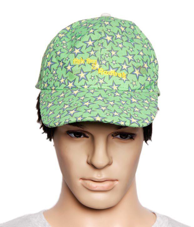 Reebok Green Star Printed Cap