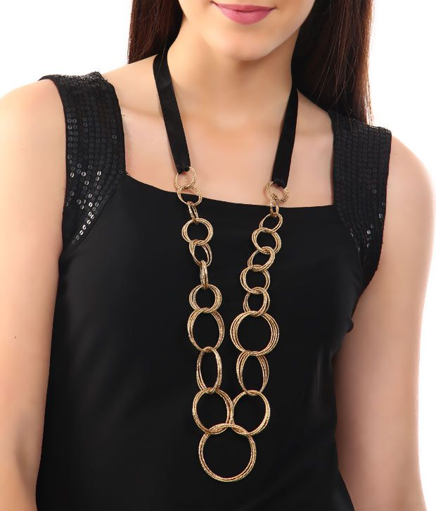 Rhea Ascending Ring Necklace