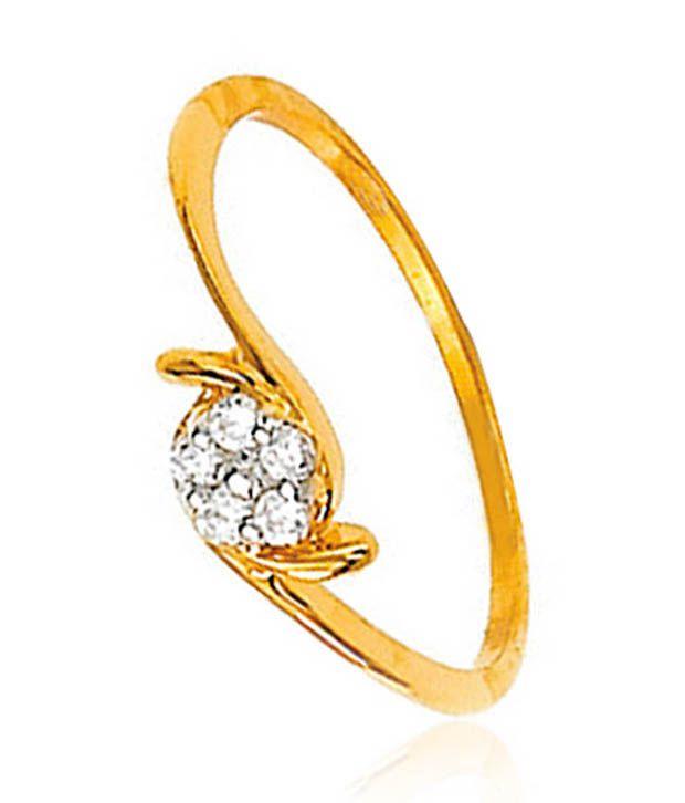 Avsar 18kt Gold 0.04 Ct. Diamond Ring