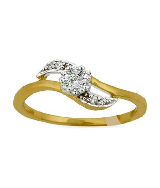 Avsar 0.16 Ct. Eleven Diamond 18kt Gold Ring