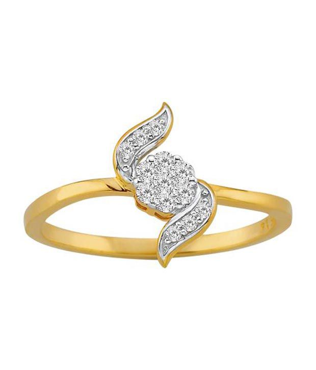 Avsar 18kt Gold 0.18 Ct. Diamond Ring