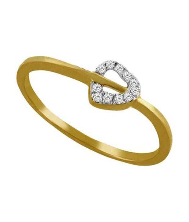 Avsar 18kt Gold 0.11 Ct. Diamond Ring