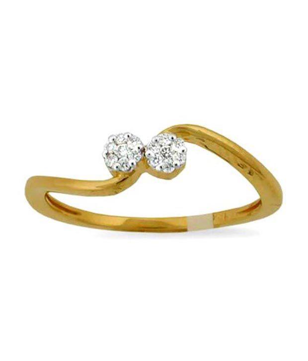 Avsar 18kt Gold 0.32 Ct. Diamond Ring